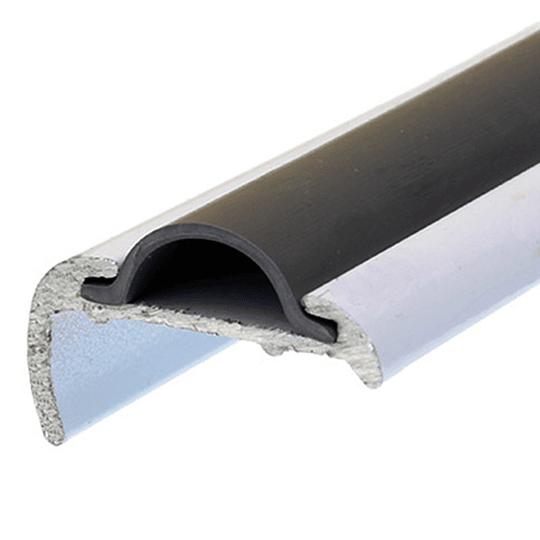 Perfil J de aluminio cubre uniones (5,5 mts)