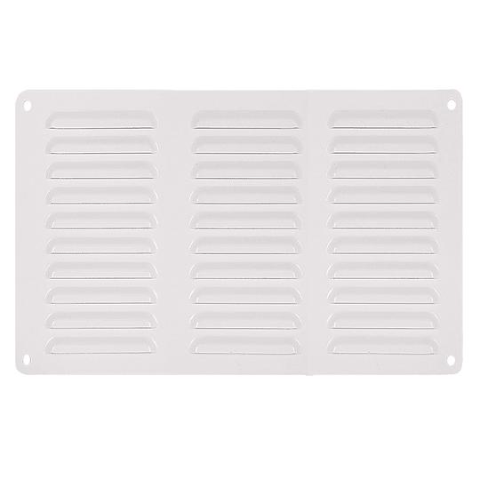 Rejilla de ventilación 293x148mm en aluminio para casa rodante, motorhome o camper