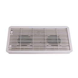 Ventilación para refrigerador con extractores 12V