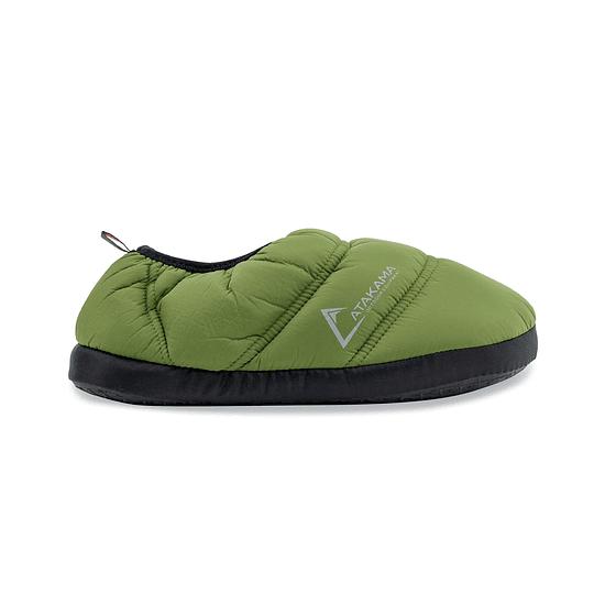 Pantufla Futaleufú Verde