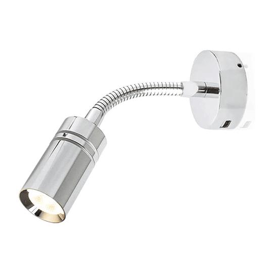 Lámpara LED 12/24V encendido touch y puerto USB
