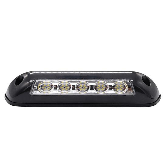 Foco LED 12V para exterior de 2.6W color negro