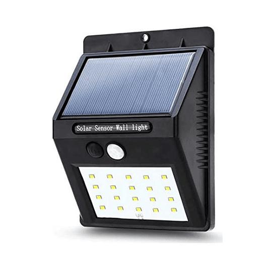 Foco Solar LED 4W con Sensor de Movimiento