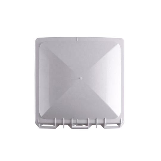 Tapa de claraboya tipo Jensen color blanco 360x360 mm (14x14