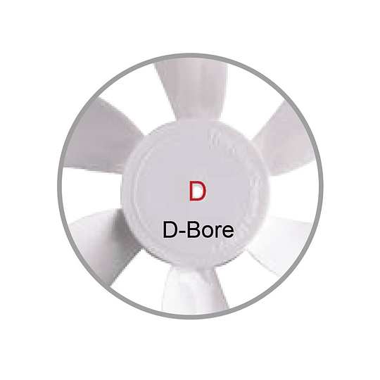 Aspas de repuesto para extractor de claraboya sujeción en D