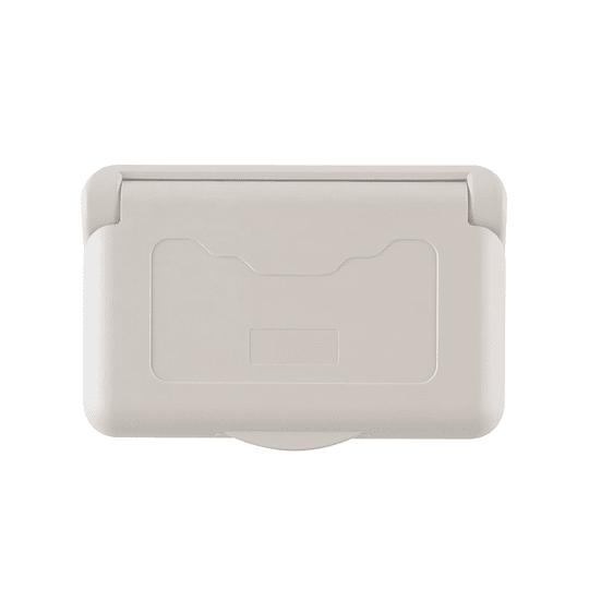 Tapa para caja eléctrica exterior
