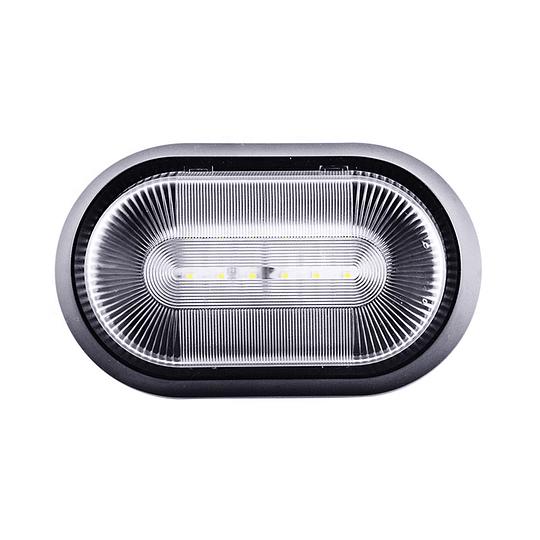 Foco LED 12/24V para exterior negro