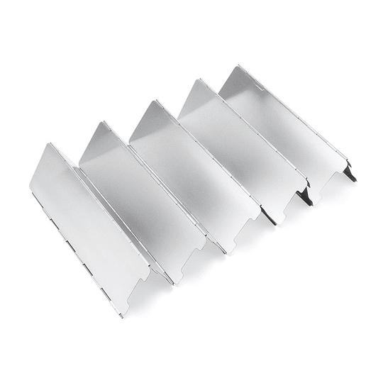 Paraviento de 10 placas para cocina de camping
