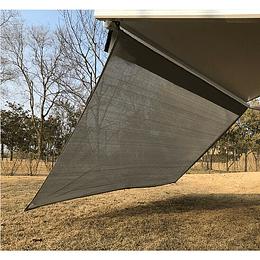 Extensión de toldo para casa rodante