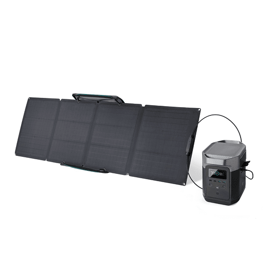 EcoFlow Delta + Panel Solar Plegable 110W