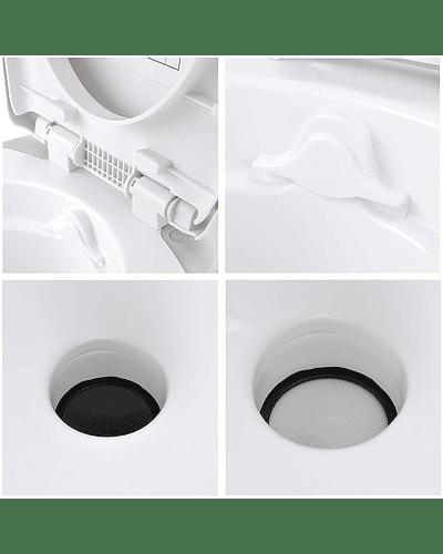 Baño químico para casa rodante, camper y motorhome descarga por gravedad