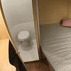 Baño con pedal para casa rodante, camper y motorhome descarga por gravedad