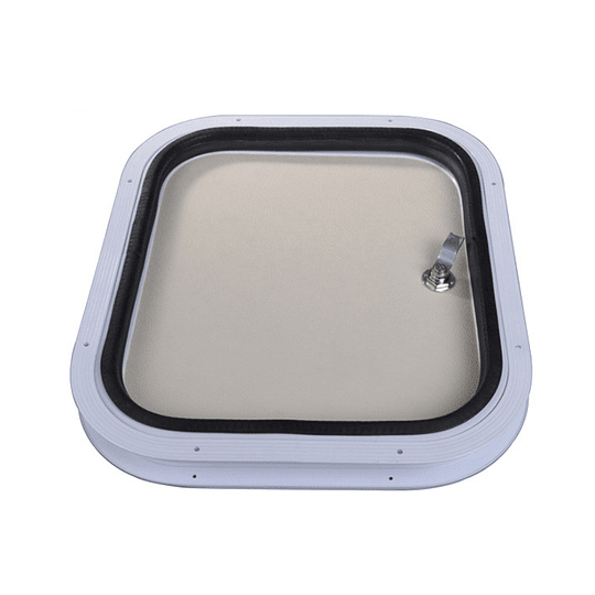 Puerta de bodega 500x500 mm para casa rodante y motorhome