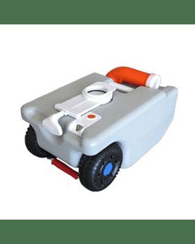 Estanque de agua 25L con ruedas y codo dirigible de vaciado
