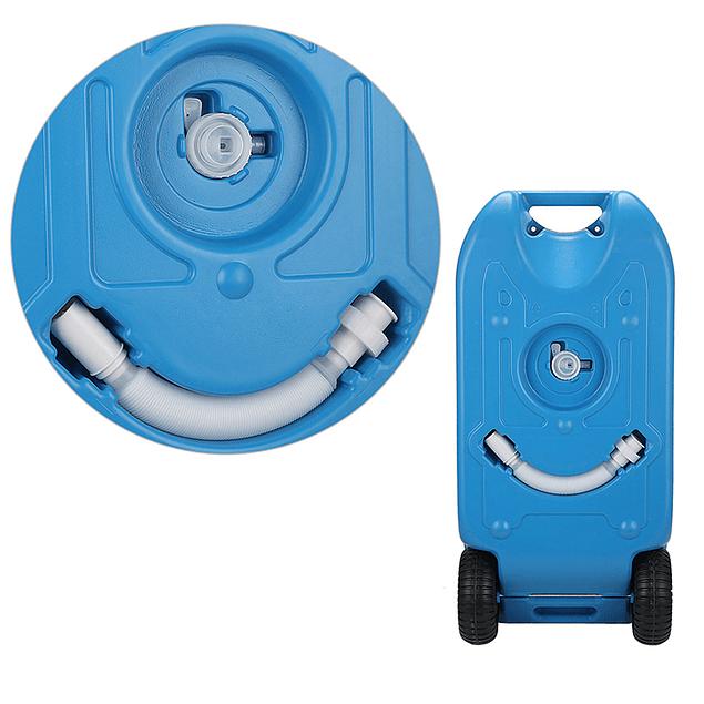 Estanque de agua 40 litros con ruedas