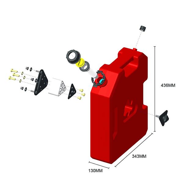 Bidón de 3GAL (11.4L)