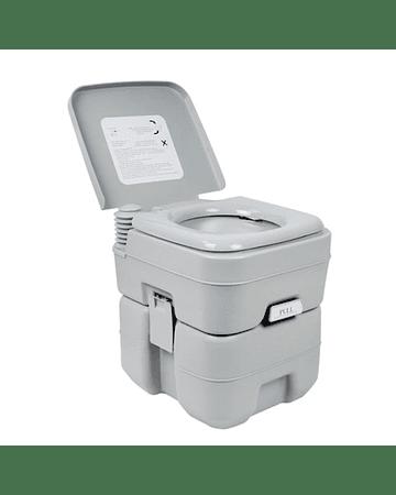 Baño químico portátil 20 litros (descarga doble) VC-BQ-2020