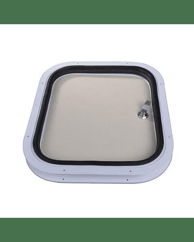 Puerta de bodega 410x360 mm para casa rodante y motorhome