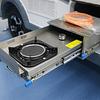 Cocina proyectable con rieles telescópicos para trailer, casa rodante, carro offroad