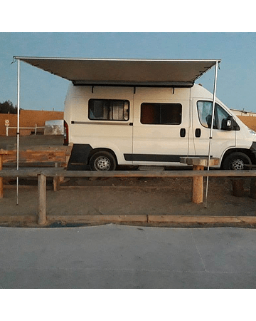Toldo lateral extensible 3,0 x 3,0 metros