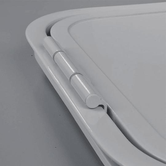 Puerta para baño cassette BQCINOX 400x300
