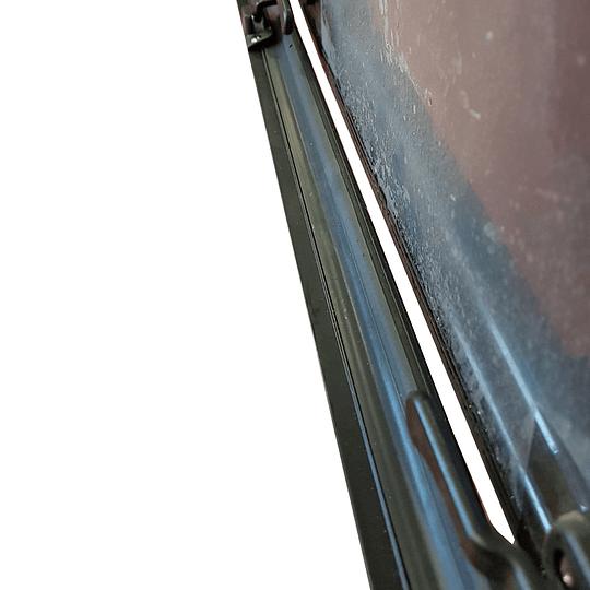 Ventana 600x350 mm esquinas rectas casa rodante motorhome