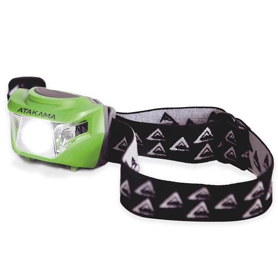 Linterna Frontal Atakama Outdoor Alma 170 Lumenes Verde