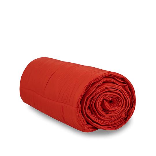 Manta Acolchada Nalca Rojo