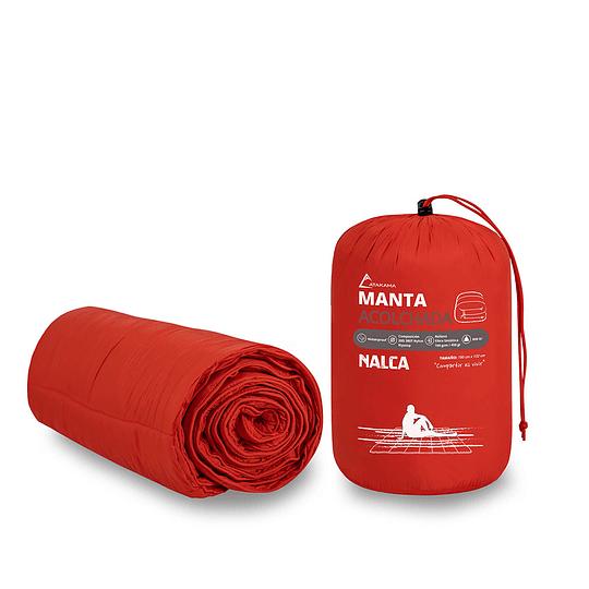 Manta Acolchada Atakama Outdoor Nalca Rojo