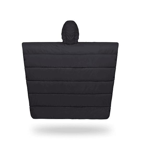 Poncho Termico Puelche Negro/Amarillo