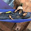 Poncho Termico Atakama Outdoor Puelche Negro/Amarillo