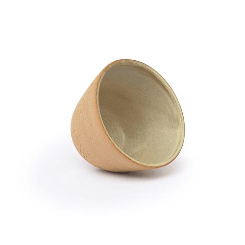 2 cuenco tallado arroz + infusor bronce