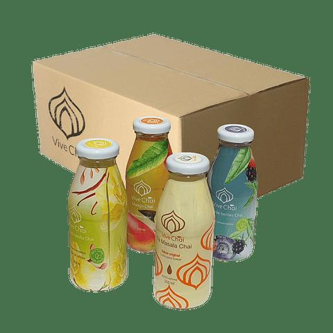 Caja mixta de 12 botellas ► 3 de cada sabor