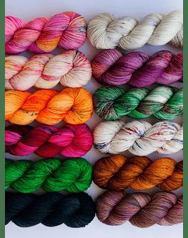 Mini Skeins Yarn Set