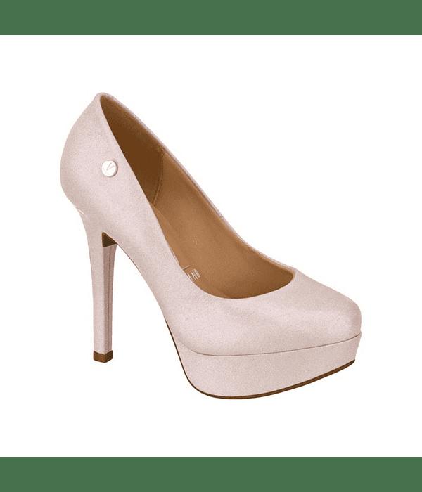 Zapato Vizzano Rosa Holográfico Glitter