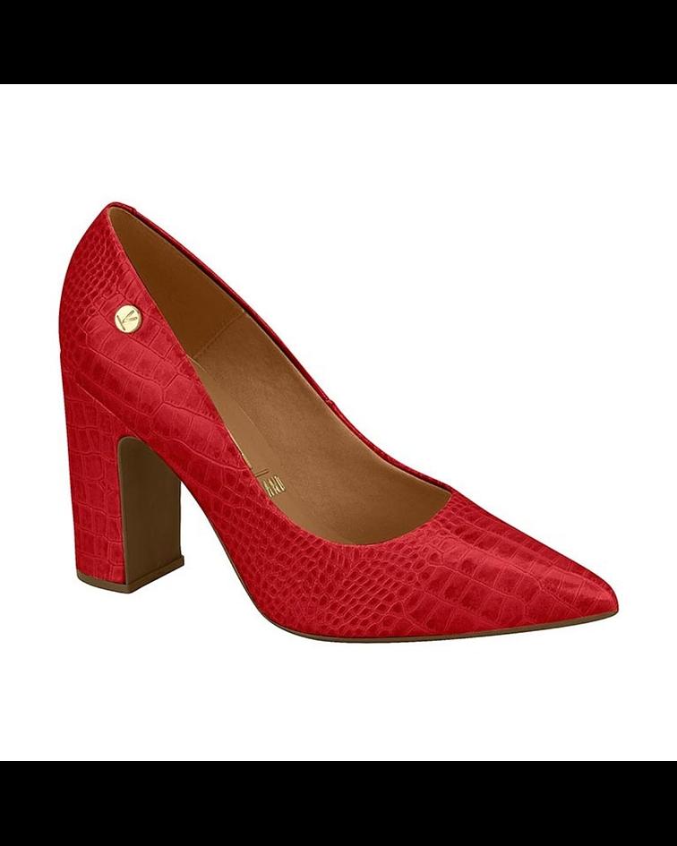 Zapato de Vestir Vizzano Rojo Croco