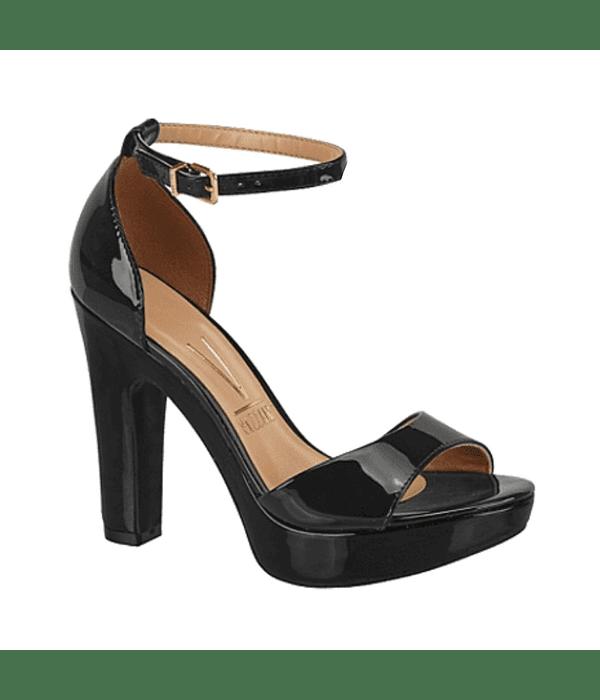 Sandalia Negra Vizzano Talonera Premium