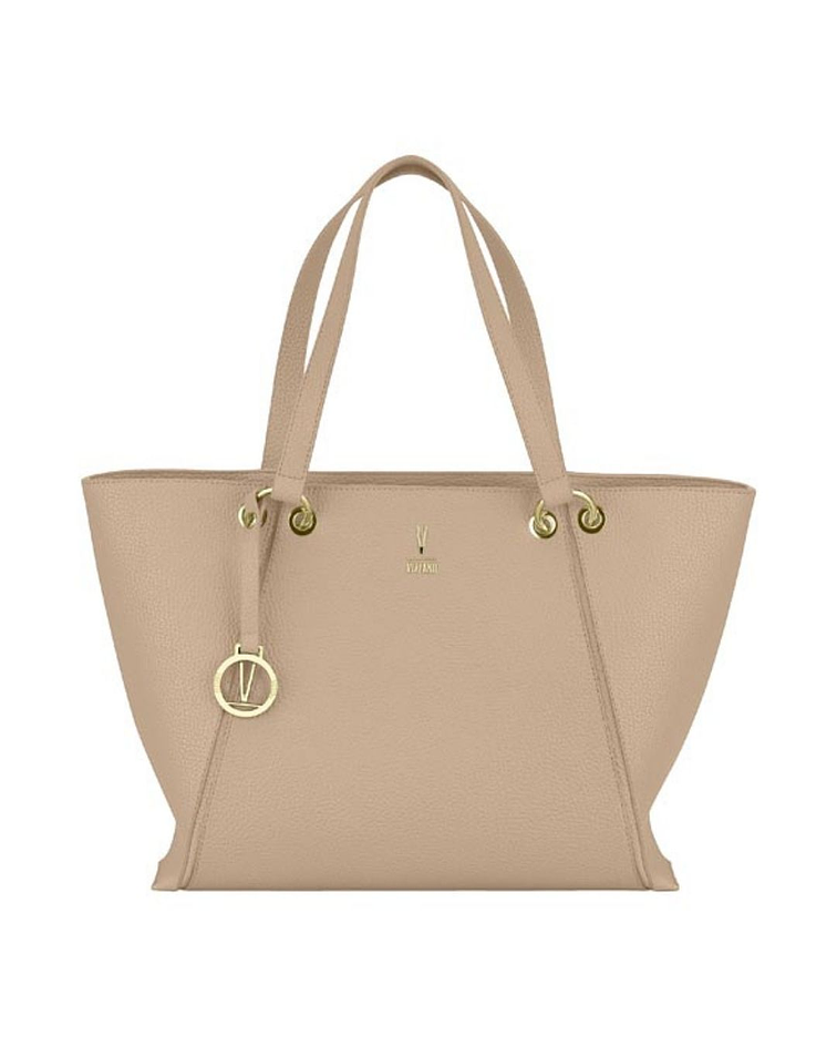Cartera Shopper Vizzano Beige