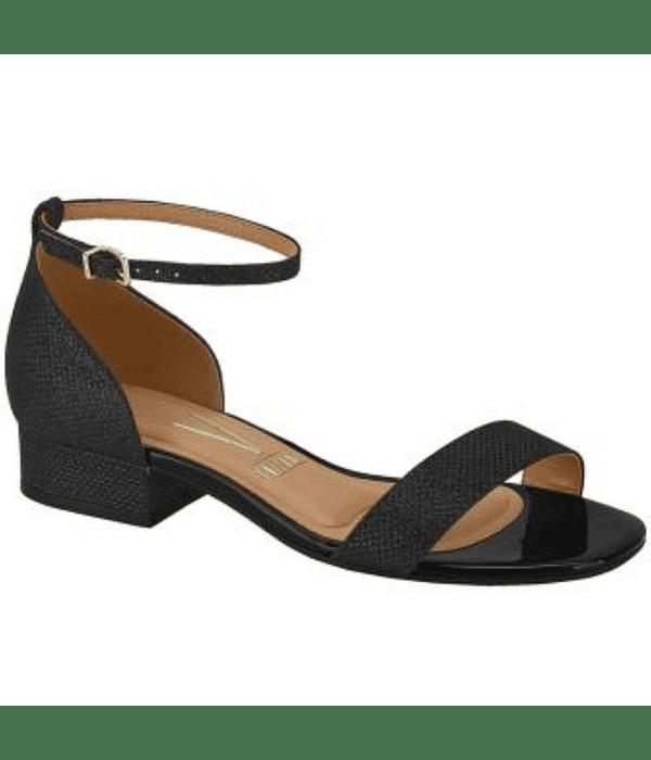 Sandalia Negra Vizzano Verniz 6412