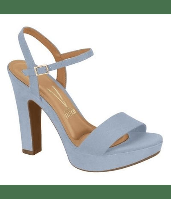 Sandalia Vizzano Celeste Jeans Camurca