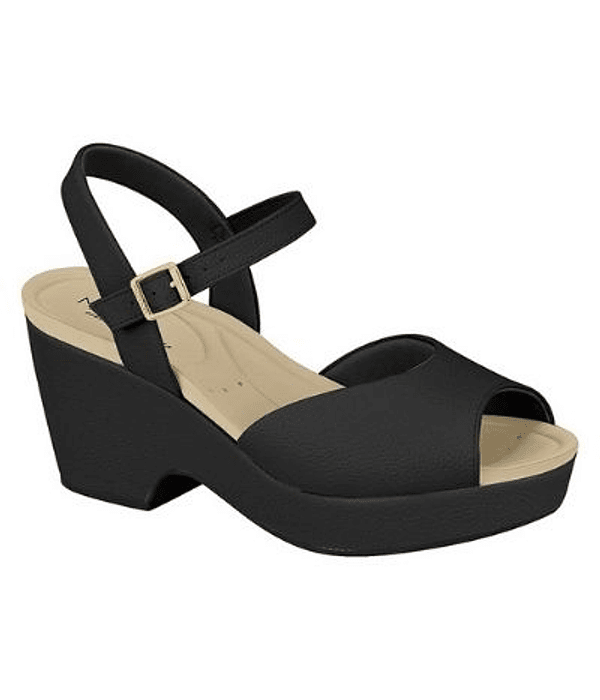 Sandalia Negra Modare 7137