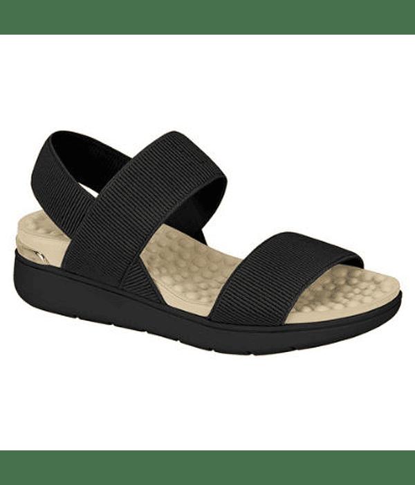 Sandalia Negra Modare Elastic