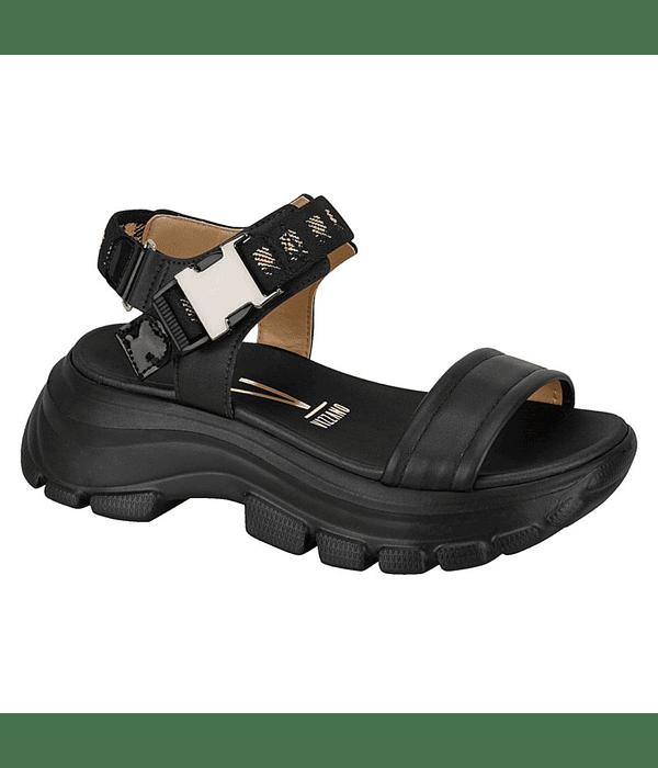 Sandalia Vizzano Negro Chunky 6440-102