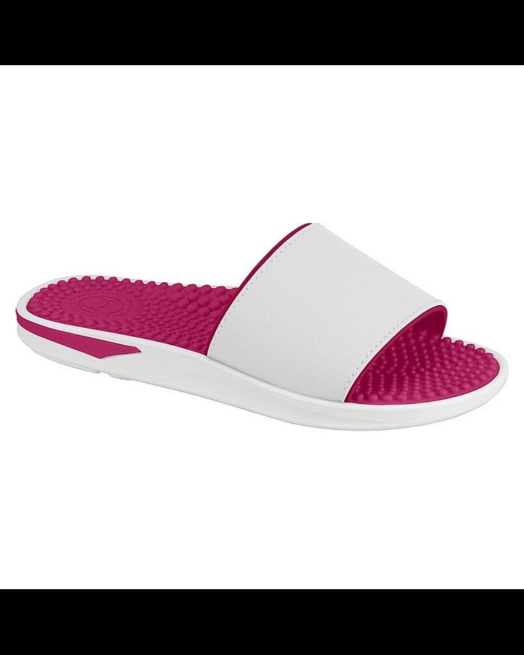 Sandalia Beira Rio Blanco Pink Neo 8419.202