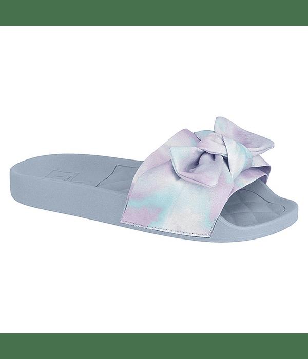 Sandalia Moleca Lila Aquarela Tie Dye 5414-104