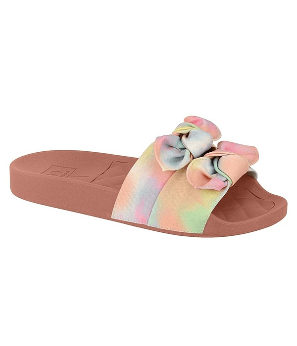 Sandalia Moleca Multicolor Tie Dye Aquarela 5414-145
