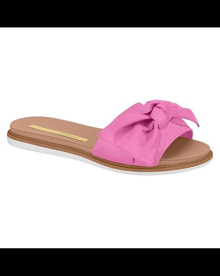 Sandalia Moleca Pink Camurca Flex 5443-105