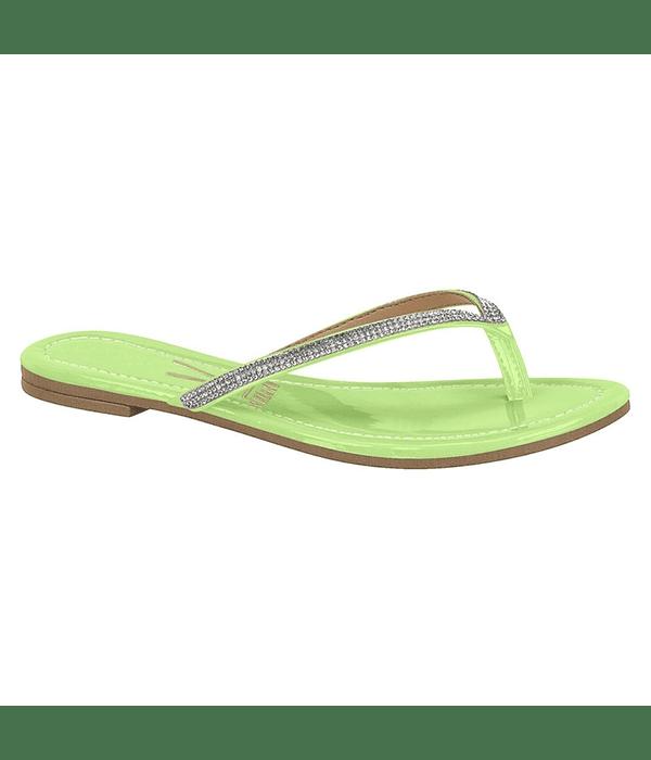 Sandalia Vizzano Verde Pistacho Verniz Premium 6371-100