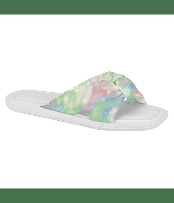 Sandalia Vizzano Tecido Multicolor Tie Dye 6439-102