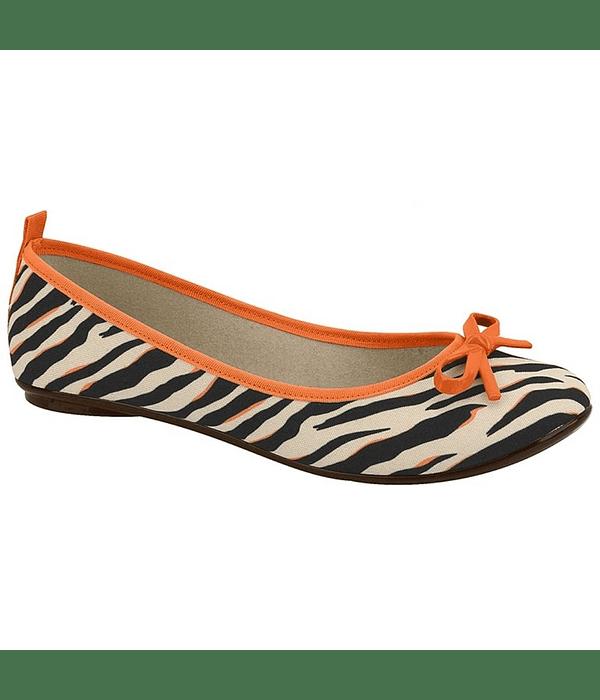 Ballerina Moleca Zebra Multi Naranjo 5314-506-21724-11768